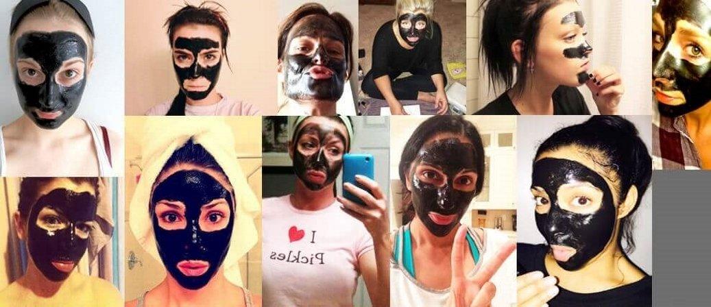 Black Mask film na odstránenie vyrážok a uhrov
