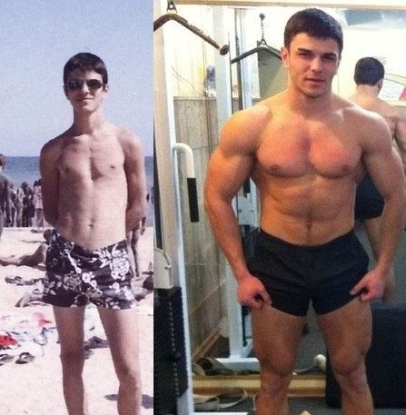 Владислав Поздняков. До и после.
